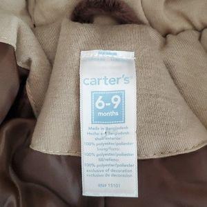 Carter's Jackets & Coats - Carter's Monkey Snowsuit sz 6-9M